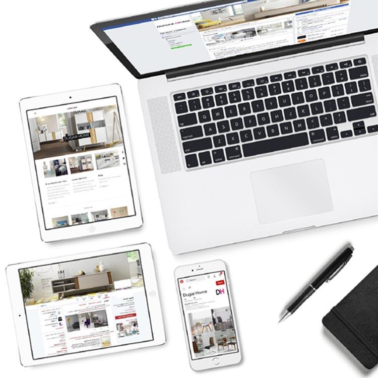 Marketing digital - Dugar Home